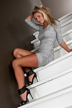 Kendra Rain Stripping On Stairs