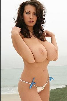 Jana Defi Goes Topless