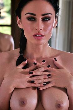 Clare Richards Bathroom Nude