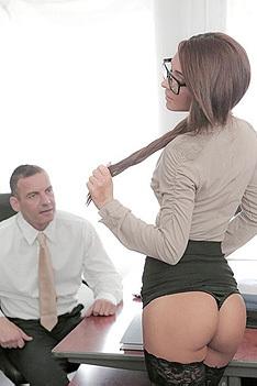 Alexis Brill Office Fuck