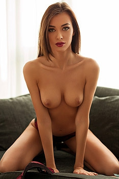 Jackie One Naked On Couch