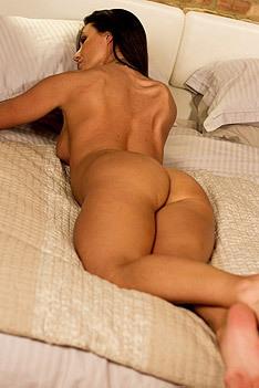 Christina In Bed