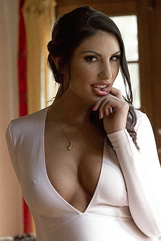 August Ames Loves Black Cock