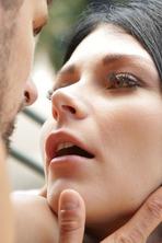 Young Pornstar Gabriela Rose Fucked In The Garden 16