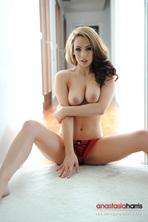 Anastasia Harris Stripping Nude 09