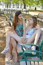 Kristen And Nina Tug Finger Fist 09