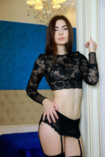 Staffie in Stockings 02