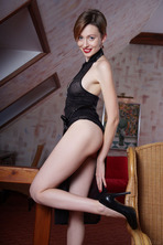 Stunning Russian Redhead Lilu Rose Favors The All-natural Look 02
