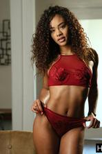 Hot Ebony Babe Scarlit 02