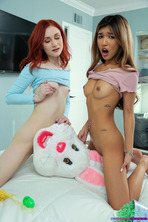 I Caught My Step Sister Humping The Easter Bunny 03