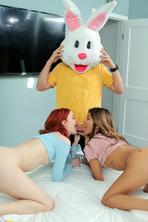 I Caught My Step Sister Humping The Easter Bunny 09