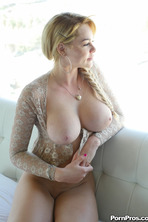 Busty On Bicycle 12