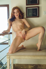 Jia Lissa As She Bends Over The Banisters Is A Thrill 16