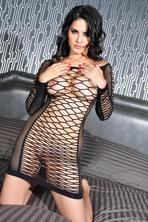 Sunny Leone Wearing See Through Lingerie 12