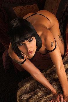 Naked Busty Tattooed Chick