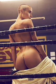Hard Chick In The Ring