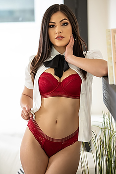 Kenra In Red Lingerie
