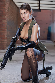 Alyssa Reece In Metal Gear Solid A Xxx Parody
