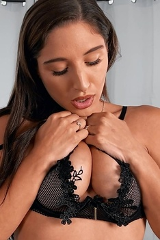 Abella Danger Hard Cock Slowly Sucking Every Inch
