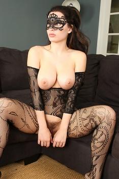 Lana Rhodes Crotchless Bodystocking Baberotica