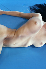 Lucy Plays With A Pink Dildo 03