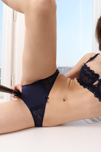 Cute Teen Mila Azul Shows Her Shaved Pussy 03
